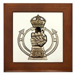 Royal Armoured Corps Framed Tile