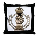 Royal Armoured Corps Throw Pillow