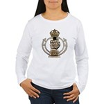 Royal Armoured Corps Women's Long Sleeve T-Shirt