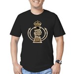 Royal Armoured Corps Men's Fitted T-Shirt (dark)