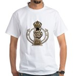 Royal Armoured Corps White T-Shirt