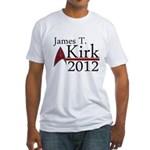 James Kirk 2012 Fitted T-Shirt