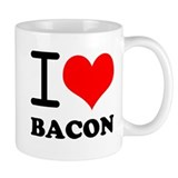 I Love Bacon Coffee Mug