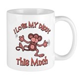 I love my Daddy Small Mug