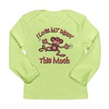 I love my Daddy Long Sleeve Infant T-Shirt