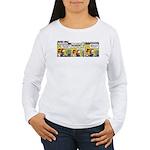 0220 - Better and safer Women's Long Sleeve T-Shir