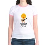 Guitar Chick Jr. Ringer T-Shirt