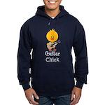 Guitar Chick Hoodie (dark)