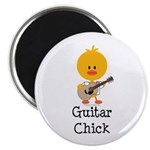 Guitar Chick Magnet