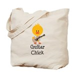 Guitar Chick Tote Bag