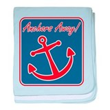 Anchors Away! baby blanket