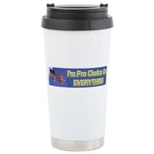 I'm Pro Choice Ceramic Travel Mug