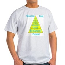 Wisconsin Food Pyramid T-Shirt