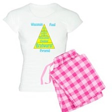 Wisconsin Food Pyramid Pajamas