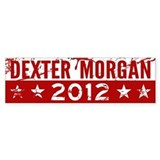 Dexter Morgan 2012 Bumper Sticker