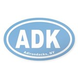 ADK Euro Oval Decal
