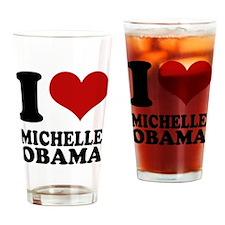 I love Michell Obama Pint Glass