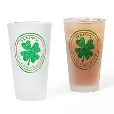 Happy St. Patricks Day Pint Glass