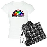Rainbow Girls Pajamas
