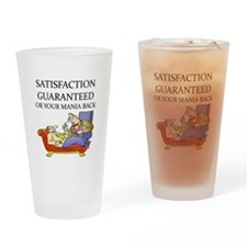 funny therapist Pint Glass