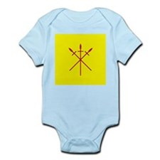 Red Spears Populace Badge Infant Bodysuit