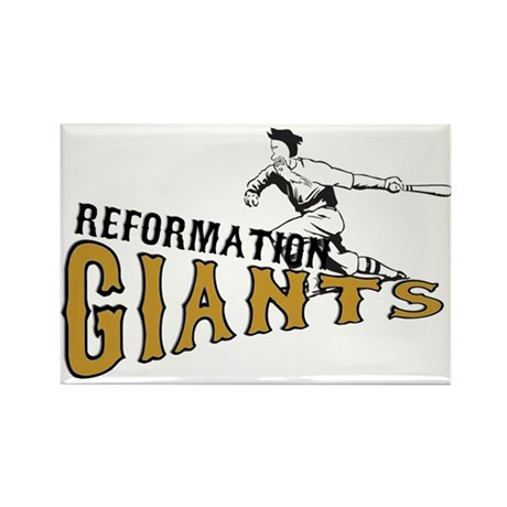 Reformation Giants - Rectangle Magnet