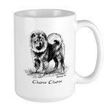 Chow Chow Ceramic Mugs