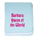 Queen of the World baby blanket