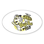 Oval Sticker