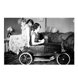 Flappers in a Flivver Postcards (Package of 8)