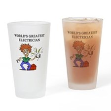 electrician gifts t-shirts Pint Glass