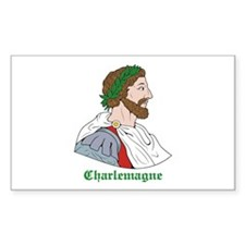 Charlemagne Rectangle Decal