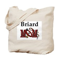Briard Mom Tote Bag