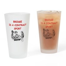 duplicate bridge Pint Glass