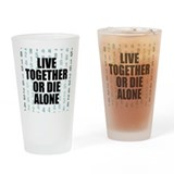 LOST Live Together Pint Glass