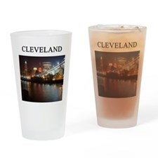 cleveland gifts t-shirts pres Pint Glass