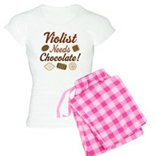Viola Music Humor Women's Light Pajamas