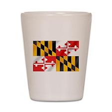 Flag of Maryland Shot Glass