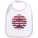 Sailor's Anchor Bib