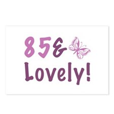 85 & Lovely Postcards (Package of 8)