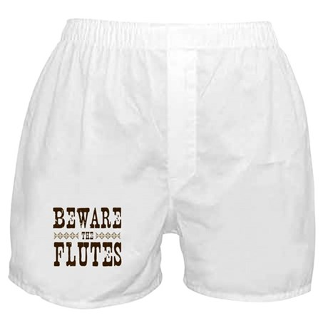 Beware the Flutes Boxer Shorts