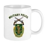 US Army Military Police Crest Small Mugs
