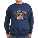 USN Official Navy Veteran Jumper Sweater