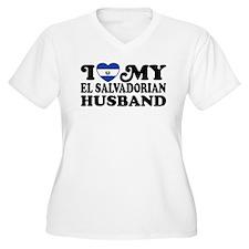 I Love My El Salvadorian Husband T-Shirt