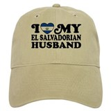 I Love My El Salvadorian Husband Cap