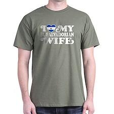 I Love My El Salvadorian Wife T-Shirt