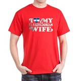 I Love My El Salvadorian Wife T-Shirt
