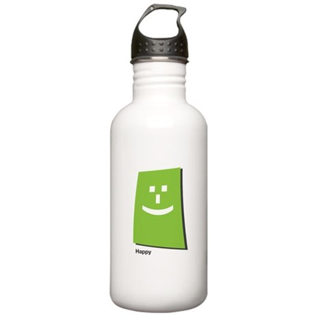 happy Stainless Water Bottle 1.0L