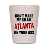 Atlanta Football Shot Glass