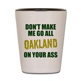 Oakland Baseball Shot Glass